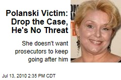 Polanski Victim: Drop the Case, He's No Threat