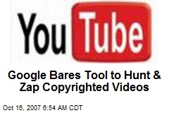 Google Bares Tool to Hunt & Zap Copyrighted Videos