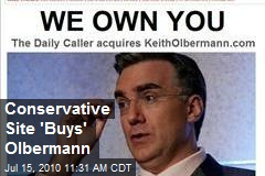 Conservative Site &#39;Buys&#39; Olbermann