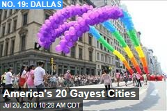 America's 20 Gayest Cities