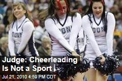 cheerleading is not a sport 10 reasons why cheerleading is a sport recently, the ama named cheerleading a sport due to the injuries cheerleaders sustain but, is it really a sport.