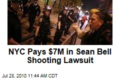 NYC Pays $7M in Sean Bell Shooting Lawsuit