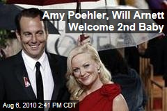 Amy Poehler, Will Arnett Welcome 2nd Baby