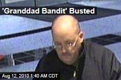 &#39;Granddad Bandit&#39; Busted