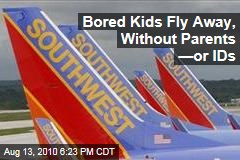 Bored Kids Fly Away, Without Parents —or IDs