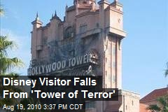 Disney Visitor Falls From 'Tower of Terror'