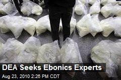 DEA Seeks Ebonics Experts