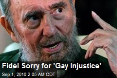 Fidel Sorry for 'Gay Injustice'