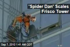 'Skyscraperman' Scales Frisco Tower
